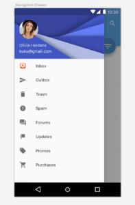 Android Drawer Menu