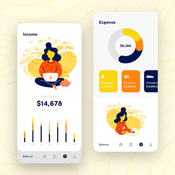 Sherpa: fintech app for personal finances