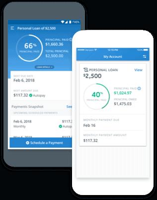 Mobile lending app for borrowers by Avant