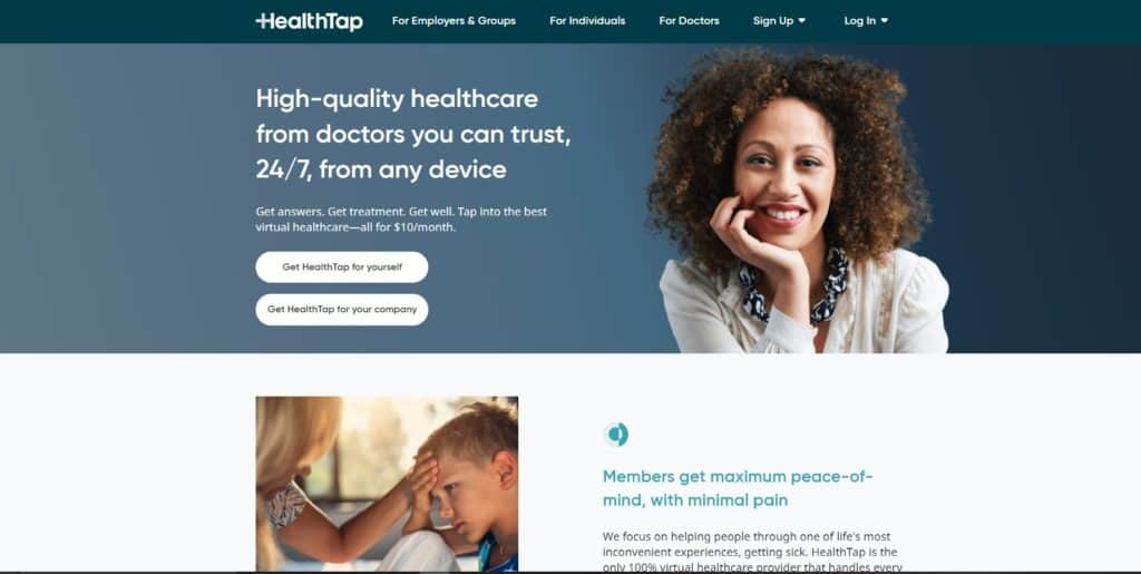 HealthTap doctor booking solution