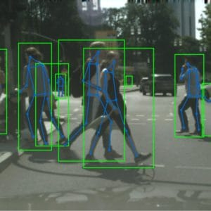 pedestrian detection and pose estimation results