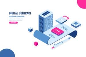 time to create and deploy smart contract and dapps