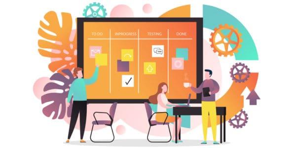 agile application development main banner