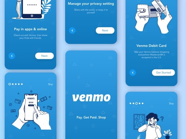 mobile wallet onboarding example