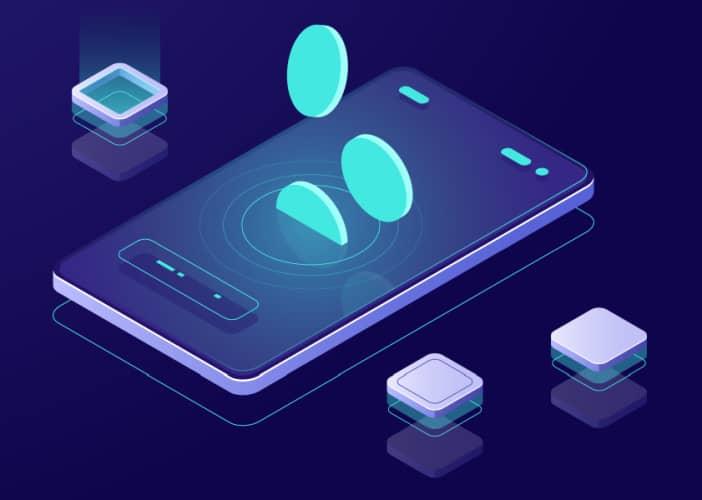 crypto wallet development prototyping concept